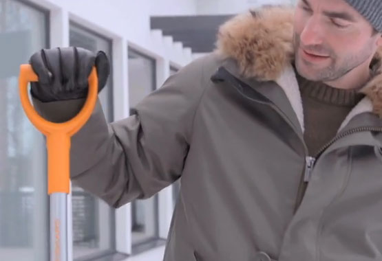 SnowXpert™ šepetys ir ledo grandiklis