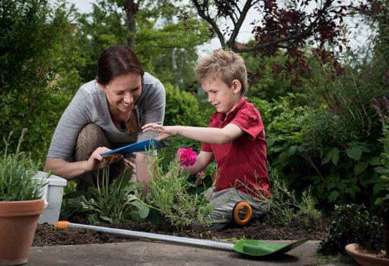 Sodininkystė gali būti vaikų žaidimas