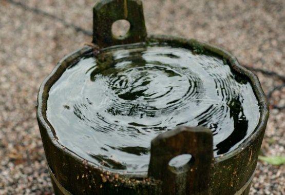 Rinkite lietaus vandenį