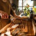 Functional Form bambukinės lentelės duonai ir duonos peilio komplektas