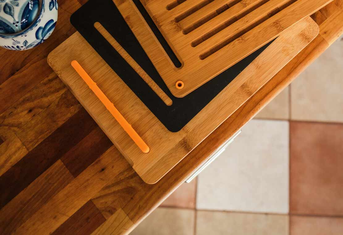 Functional Form bambukinių pjaustymo lentelių rinkinys