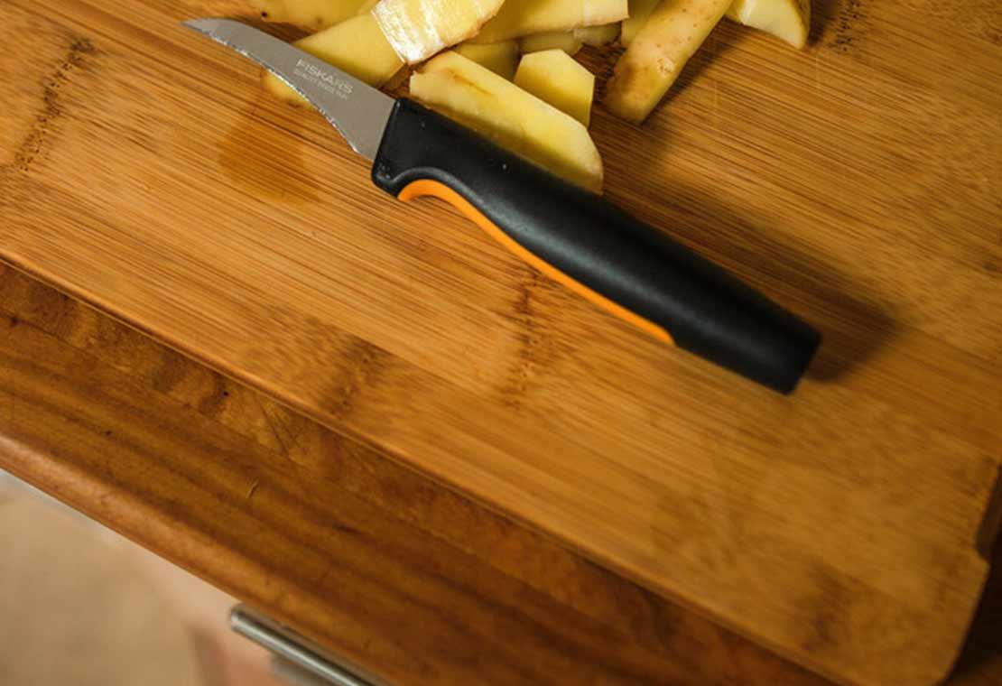 Functional Form skutimo peilis lenkta geležtė